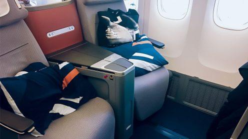 漢莎航空紐約飛米蘭商務艙